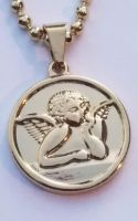 Botticelli Angel Necklace