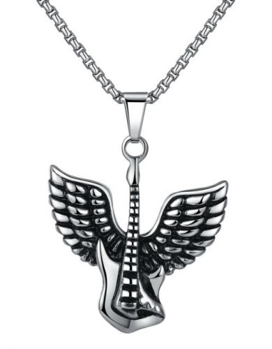Guitar Wing Necklace