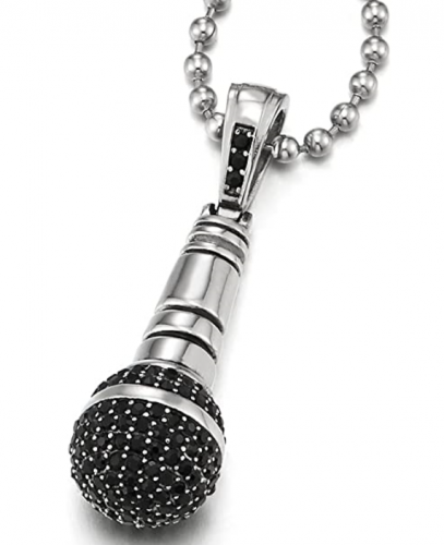 Microphone Necklace
