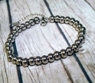 Stainless Steel Bead Bracelet